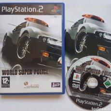 Videojuegos y Consolas: WORLD SUPER POLICE PS2 PLAYSTATION 2. Lote 205714036