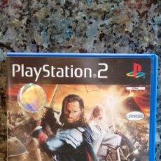Videojuegos y Consolas: JUEGO PS2 PAL SEÑOR ANILLOS RETORNO REY EA GAMES. Lote 205719557