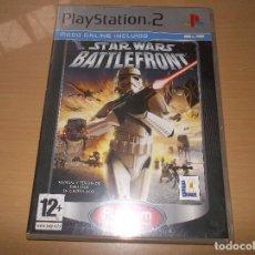 Videojuegos y Consolas: PS2 STAR WARS BATTLEFRONT II PLAYSTATION 2 (CAJA Y MANUAL BATTLEFRONT1). Lote 205750286