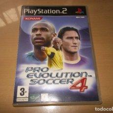 Videojuegos y Consolas: PS2 PRO EVOLUTION SOCCER 4 PLAYSTATION 2 PAL MULTI IDIOMAS. Lote 205750673