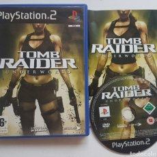 Videojuegos y Consolas: TOMB RAIDER UNDERWORLD PS2 PLAYSTATION 2. Lote 205868855