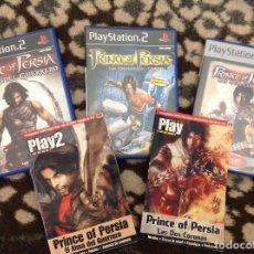 Videojuegos y Consolas: PRINCIPE DE PERSIA TRES JUEGOS PLAY 2. Lote 206192205