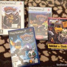Videojuegos y Consolas: RATCHET AND CLANK TRES JUEGOS PLAY 2. Lote 206192252