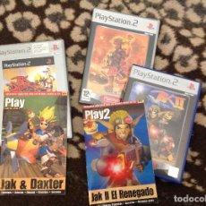 Videojuegos y Consolas: JACK AND DEXTER TRES JUEGOS PLAY 2. Lote 206192415