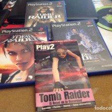 Videojuegos y Consolas: TOMB RAIDER TRES JUEGOS PLAY 2. Lote 206192497