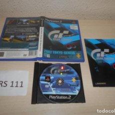 Videojuegos y Consolas: PS2 - GRAN TURISMO COMCEPT 2002 TOKYO-GENEVA , PAL ESPAÑOL , COMPLETO. Lote 206359018