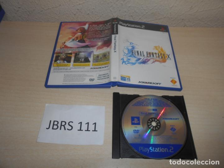 PS2 - FINAL FANTASY X , PAL ESPAÑOL , PROMOCIONAL (Juguetes - Videojuegos y Consolas - Sony - PS2)