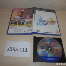 Videojuegos y Consolas: PS2 - FINAL FANTASY X , PAL ESPAÑOL , PROMOCIONAL. Lote 206359156