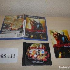Videojuegos y Consolas: PS2 - DEVIL MAY CRY 3 SPECIAL EDITION , PAL ESPAÑOL , COMPLETO. Lote 206360675