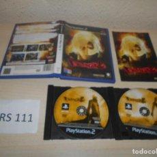 Videojuegos y Consolas: PS2 - DEVIL MAY CRY 2 , PAL ESPAÑOL , COMPLETO. Lote 206360801
