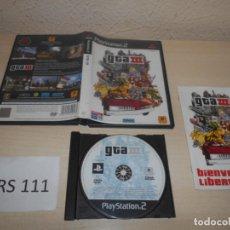 Videojuegos y Consolas: GTA III , PAL ESPAÑOL , COMPLETO. Lote 206361123