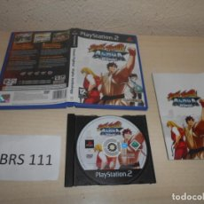 Videojuegos y Consolas: PS2 - STREET FIGTHER ALPHA ANTHOLOGY , PAL ESPAÑOL , COMPLETO. Lote 206361262