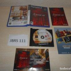 Videojuegos y Consolas: PS2 - RESIDENT EVIL 4 , PAL ESPAÑOL , COMPLETO. Lote 206361518