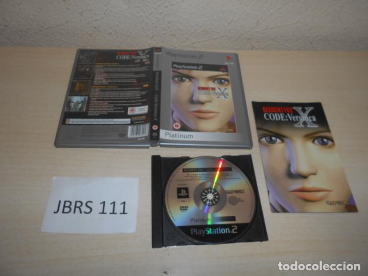 PS2 - RESIDENT EVIL CODE VERONICA X , PAL ESPAÑOL , COMPLETO (Juguetes - Videojuegos y Consolas - Sony - PS2)