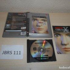 Videojuegos y Consolas: PS2 - RESIDENT EVIL CODE VERONICA X , PAL ESPAÑOL , COMPLETO. Lote 206361642