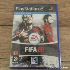 Videojuegos y Consolas: FIFA 08 2008 (SONY PLAYSTATION 2 ) PS2 NUEVO PRECINTADO PAL DK. Lote 206381235