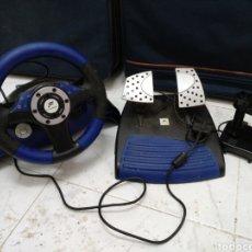 Videojuegos y Consolas: PLAYSTATION VOLANTE Y PEDALES. Lote 206408992