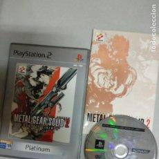 Videojuegos y Consolas: METAL GEAR SOLID 2 SONS OF A LIBERTY - PS2 - PLAYSTATION 2 - PAL ESP. Lote 206532610