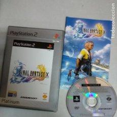 Videojuegos y Consolas: FINAL FANTASY X - PS2 PLAYSTATION 2 - PAL ESP. Lote 206532753