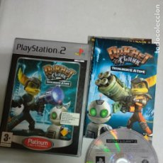 Videojuegos y Consolas: RATCHET AND CLANK 2 TOTALMENTE A TOPE & - PS2 PLAYSTATION 2 - PAL ESP. Lote 206532931