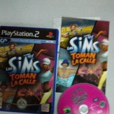 Videojuegos y Consolas: LOS SIMS TOMAN LA CALLE - PS2 PLAYSTATION 2 - PAL ESP. Lote 206533180