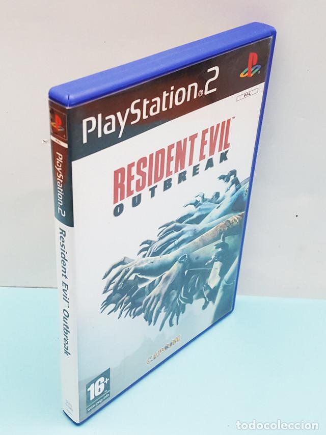 JUEGO PLAYSTATION 2 RESIDENT EVIL OUTBREAK COMPLETO: CAJA + CD + MANUAL + PUBLICIDAD (Juguetes - Videojuegos y Consolas - Sony - PS2)