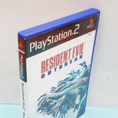 Videojuegos y Consolas: JUEGO PLAYSTATION 2 RESIDENT EVIL OUTBREAK COMPLETO: CAJA + CD + MANUAL + PUBLICIDAD. Lote 206565476
