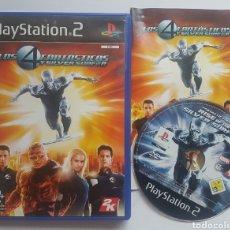 Videojuegos y Consolas: LOS 4 FANTASTICOS Y SILVER SURFER PS2 PLAYSTATION 2. Lote 206578340