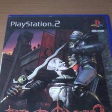 Videojuegos y Consolas: PS2 BLOOD OMEN 2 COMPLETO PS2 ESP. Lote 206884440
