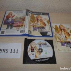 Videojuegos y Consolas: PS2 - HANAH MONTANA , PAL ESPAÑOL , COMPLETO. Lote 206916480
