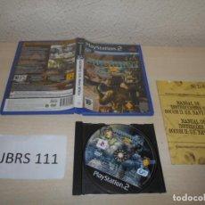 Videojuegos y Consolas: PS2 - SOCOM II US NAVY , PAL ESPAÑOL , COMPLETO. Lote 206916532