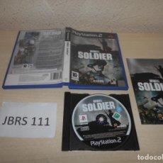 Videojuegos y Consolas: PS2 - WWII SOLDIER , PAL ESPAÑOL , COMPLETO. Lote 206916758