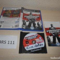 Videojuegos y Consolas: PS2 - FREEDOM FIGTHERS , PAL ESPAÑOL , COMPLETO. Lote 206916983