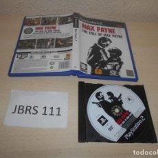 Videojuegos y Consolas: PS2 - MAX PAYNE 2 , PAL ESPAÑOL , SIN INSTRUCIONES. Lote 206917502