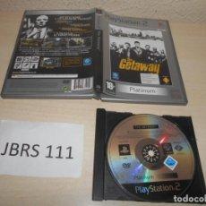 Videojuegos y Consolas: PS2 - THE GETAWAY , PAL ESPAÑOL , SIN INSTRUCIONES. Lote 206919455