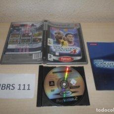Videojuegos y Consolas: PS2 - PRO EVOLUTION SOCCER , PAL ESPAÑOL , COMPLETO. Lote 206919608