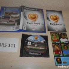 Videojuegos y Consolas: PS2 - UEFA EURO 2004 , PAL ESPAÑOL , COMPLETO. Lote 206920057