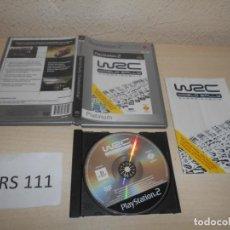 Videojuegos y Consolas: PS2 - WRC , PAL ESPAÑOL , COMPLETO. Lote 206920256