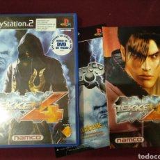 Videojuegos y Consolas: TEKKEN 4 PS2, CAJA Y MANUAL. Lote 206988122