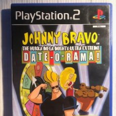 Videojuegos y Consolas: JOHNNY BRAVO (PS2) PS3 SONY PLAYSTATION 2 COMPLETO PAL UK. Lote 207036957