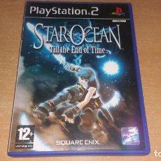Videojuegos y Consolas: STAR OCEAN TILL THE END OF TIME PS2 PAL ESPAÑA SQUARE ENIX. Lote 207875386