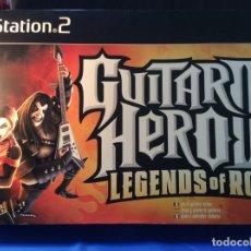 Videojuegos y Consolas: ¡¡ GUITAR HERO III + JUEGO !! SONY PS2 ¡¡NUEVO!! (VER FOTOS). Lote 208312827