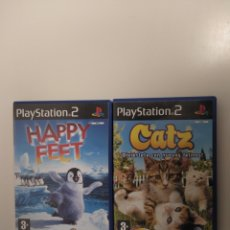 Videojuegos y Consolas: HAPPY FEET Y CATZ PARA PLAYSTATION 2. Lote 209875218