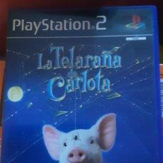 Jeux Vidéo et Consoles: LA TELARAÑA DE CARLOTA, JUEGO PLAYSTATION 2. Lote 209875470