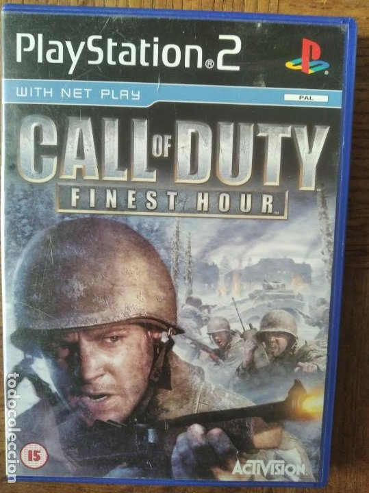 Call Of Duty Finest Hour Playstation 2 Ps2 Buy Video Games And Consoles Ps2 At Todocoleccion 210008360