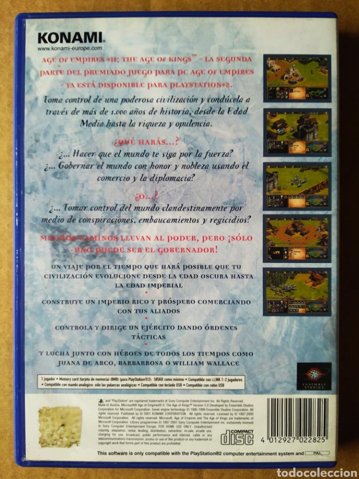 Videojuegos y Consolas: Juego PS2 PlayStation 2 Age Empires II: The Age of Kings (Konami, 2001). En español. Incluye manual. - Foto 2 - 210194102