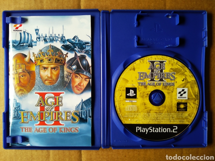 Videojuegos y Consolas: Juego PS2 PlayStation 2 Age Empires II: The Age of Kings (Konami, 2001). En español. Incluye manual. - Foto 3 - 210194102