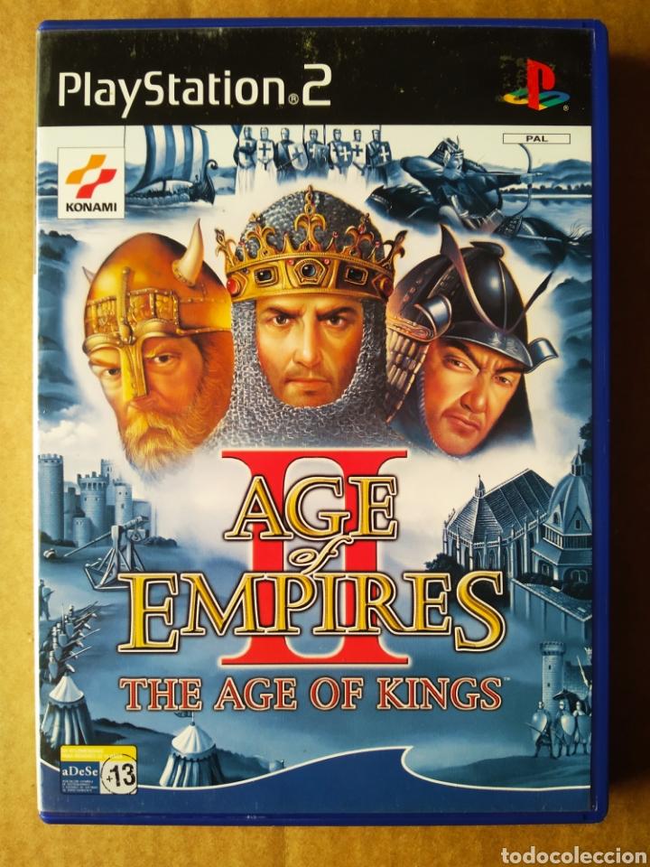 JUEGO PS2 PLAYSTATION 2 AGE EMPIRES II: THE AGE OF KINGS (KONAMI, 2001). EN ESPAÑOL. INCLUYE MANUAL. (Juguetes - Videojuegos y Consolas - Sony - PS2)