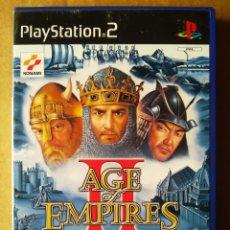 Videojuegos y Consolas: JUEGO PS2 PLAYSTATION 2 AGE EMPIRES II: THE AGE OF KINGS (KONAMI, 2001). EN ESPAÑOL. INCLUYE MANUAL.. Lote 210194102
