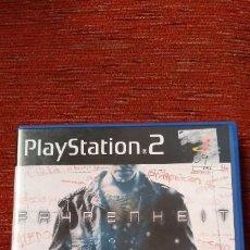 Videojuegos y Consolas: PS2 FAHRENHEIT IMPOLUTO. Lote 210390266
